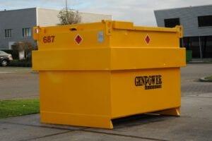 Brandstoftank IBC 3000 liter