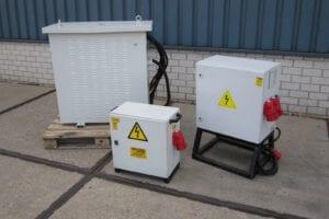Scheidingstrafo 125 kVA 230V / 400V - 230V / 400V